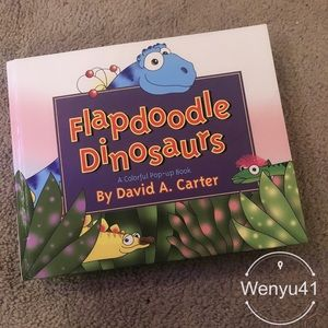 Flapdoodle dinosaurs pop-up book